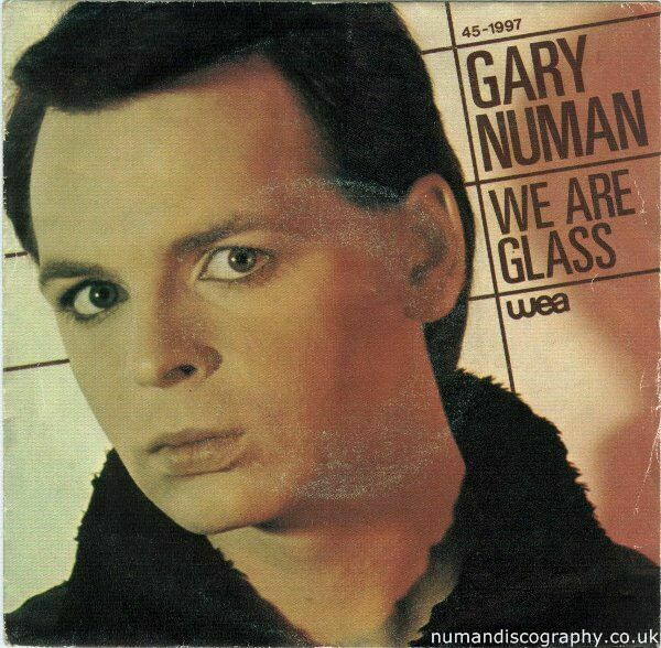 Gary Numan We Are Glass 1980 Spain