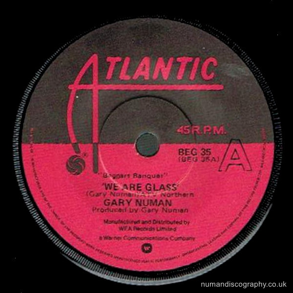 Gary Numan We Are Glass 1980 Holland
