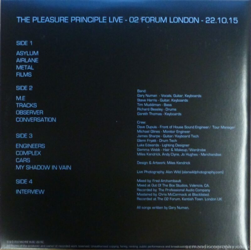 Live At The Forum Vinyl Box Set 2015