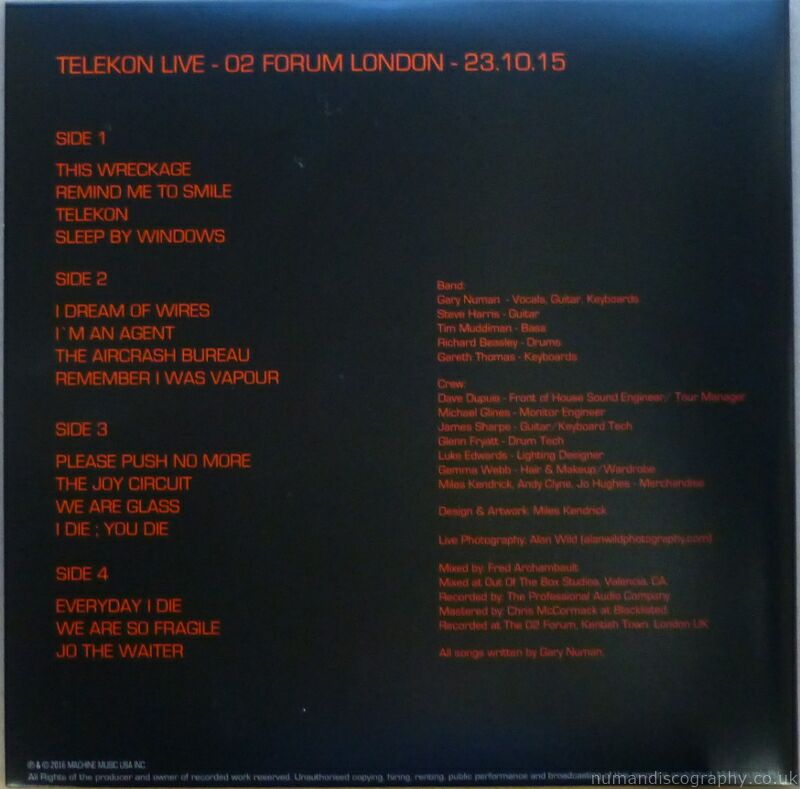 Telekon Live At The Forum 2015