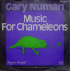 Gary Numan Music For Chameleons 1982 Germany