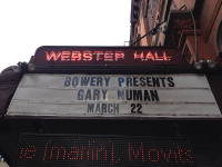 Gary Numan Webster Hall 2014