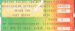 Pasadena Ticket 1982