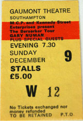 Guildford Ticket 1984
