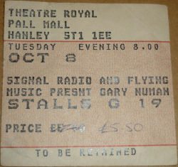 Hanley Ticket
