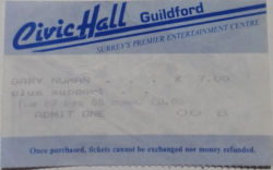 Guildford Ticket 1988