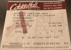 Bristol Ticket 1991