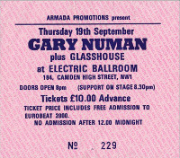 London Camden Ticket