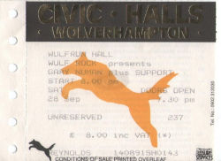 Wolverhampton Ticket 1991