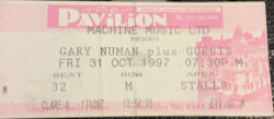 Glasgow Ticket 1997