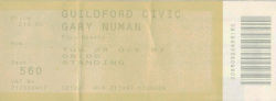Guildford Ticket 1997