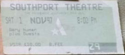 Southport Ticket 1997