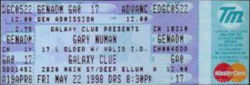Dallas Ticket 1998