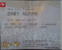 Nottingham Ticket 1999