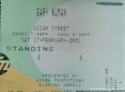 Dublin Ticket 2001