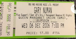 Glasgow Ticket 2006