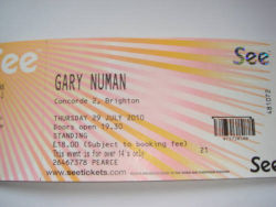 Brighton Ticket 2010