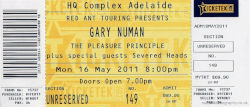 Adelaide Ticket 2011