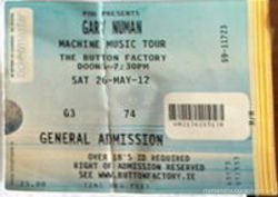 Dublin Ticket 2012