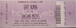 Oakland Ticket 2013