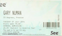 Preston Ticket 2014