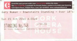 Cork Ticket 2015