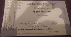 Brighton Ticket 2017
