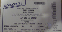 Gary Numan Glasgow Ticket 2017