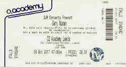 Leeds Ticket 2017