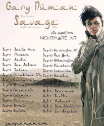 Gary Numan All Across The Nation 1987 UK